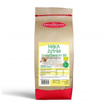Mąka żytnia ekologiczna